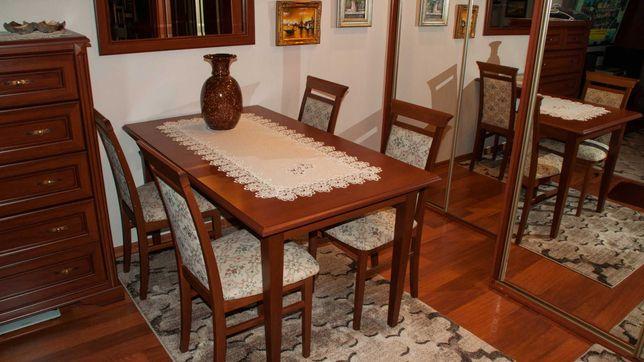 """Stół """"Stylius"""" + 4 krzesła"""