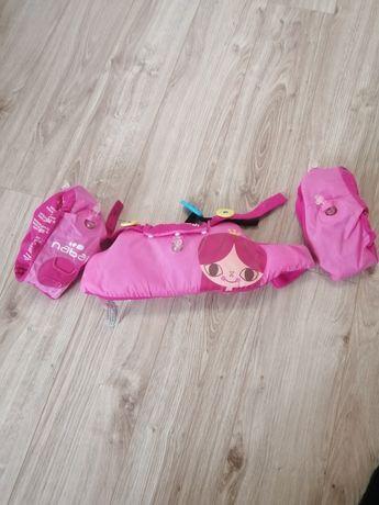 Pas wypornościowy z rękawkami firmy Nabaiji 15-30 kg
