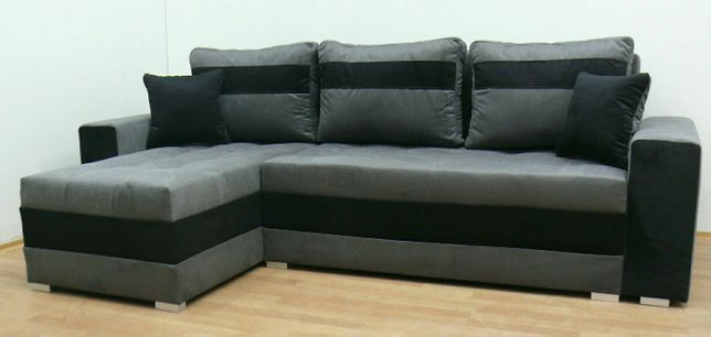 Rogówka transport Gratis w 24godz narożnik sofa kanapa funkcja spania