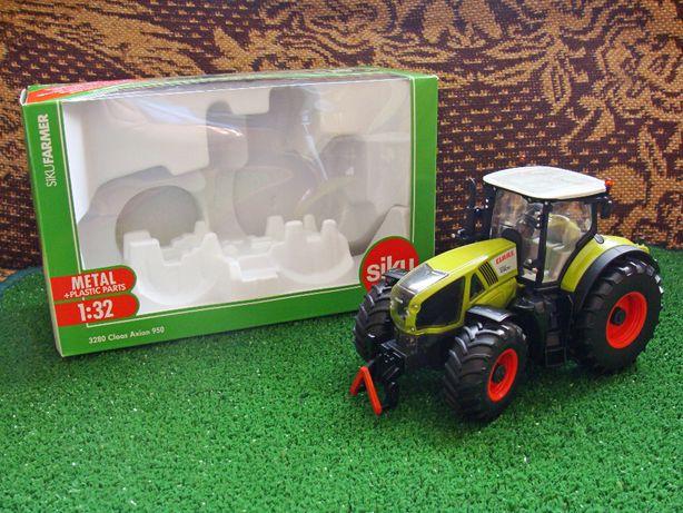 Siku Traktor Claas 950 Axion skala 1:32 OKAZJA! (proszę czytać opis)