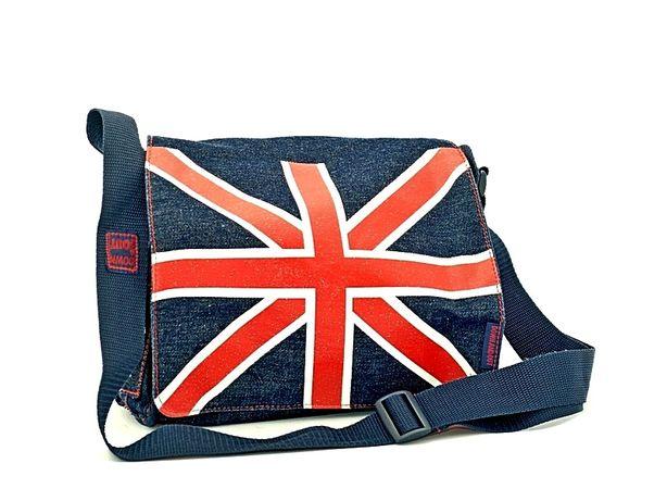 """Torebka z jeansu z motywem ,, Union Jack """""""