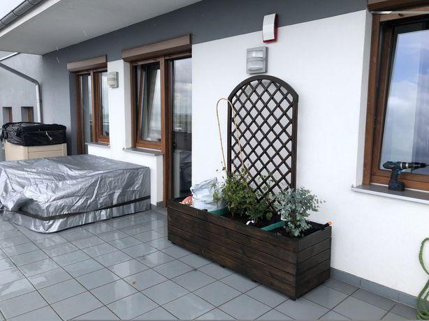Skrzynia, donica na taras, ogród, balkon