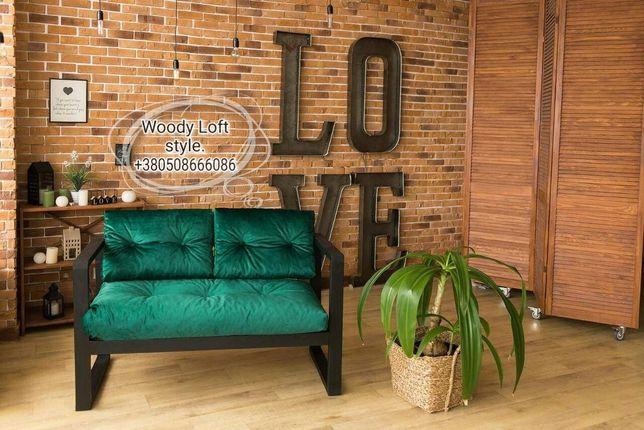 Мебель в стиле loft для кафе, баров и кальянных в стиле лофт, диваны