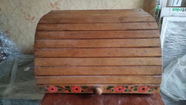 Продам деревяную  хлебницу