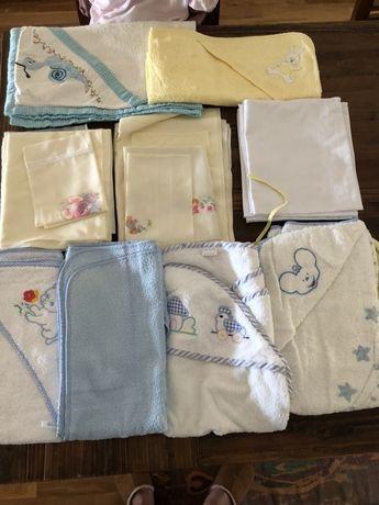 Lote de toalhas e lencois Crianca