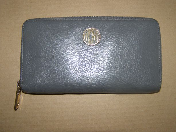 Super duży portfel DKNY skóra