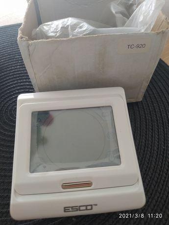 Termostat programowalny Esco TC920 2 wyjścia 230 V