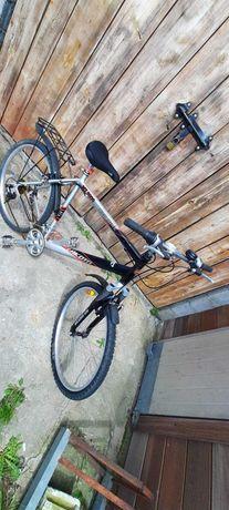 Rower Lakota MT 5000 srebrno-czarny