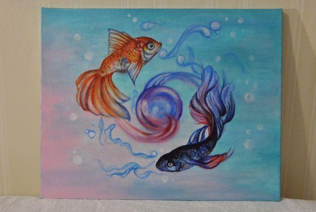 Волшебная картина Рыбки