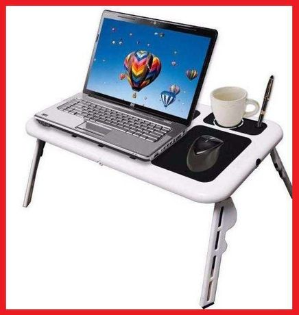 Подставка столик для ноутбука кулер ColerPad E-Table LD09