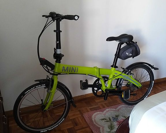 Bicicleta dobrável Mini Cooper Lime