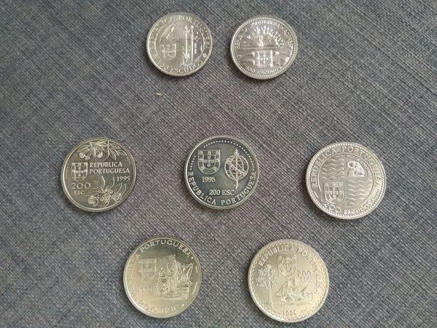 Moedas comemorativas dos Descobrimentos Portugueses 1995