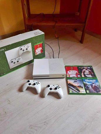 Xbox One S 2 pady gry gwarancja