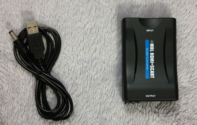 Konwerter HDMI -> SCART do starych TV