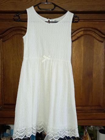 Sukieneczka koronkowa HM + bolerko
