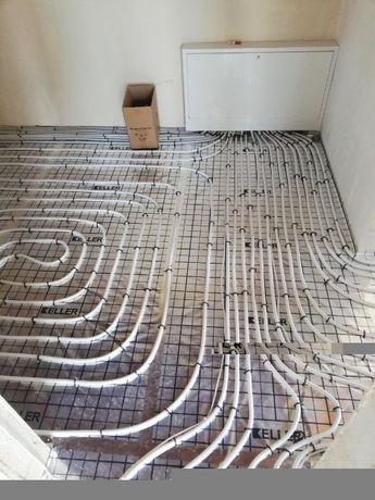 Instalacje wodno-kanalizacyjne/instalacje gazowe/grzewcze C.O CWU