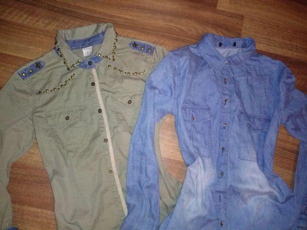 Koszule dżinsowe ćwieki jeansowa koszula M 38