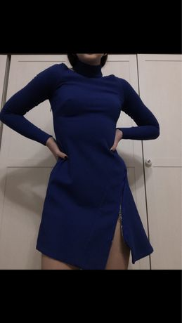 Платье Versace , синее платье