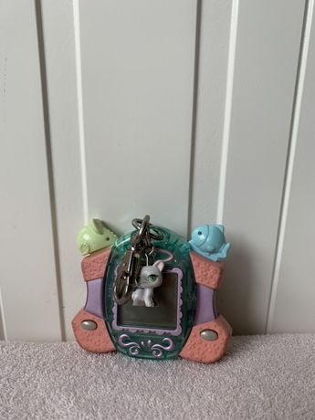 Littlest Pet Shop LPS zabawka tamagochi kot kotek gra elektroniczna