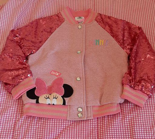 Casaco Disney 4 anos e Vestido Prenatal 3-4 anos usado 2 ou 3 vezes.