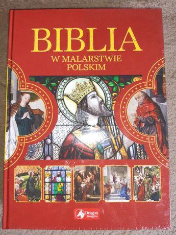 Książka Biblia w malarstwie polskim, nowa