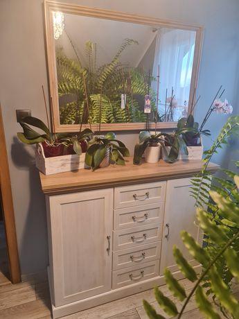 Stylowy zestaw, komoda i lustro
