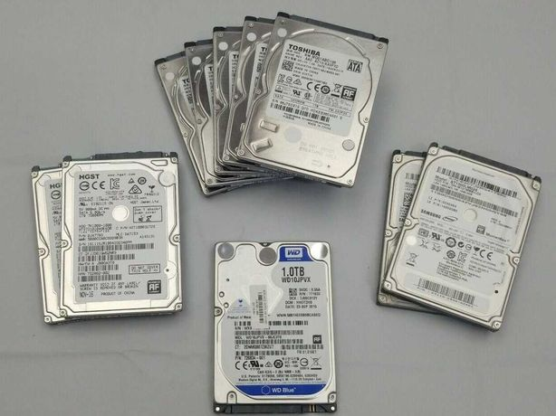 "Discos Rígidos Sata HDD 2.5"" 320Gb 500Gb 1Tb (com SMART a 100%)"