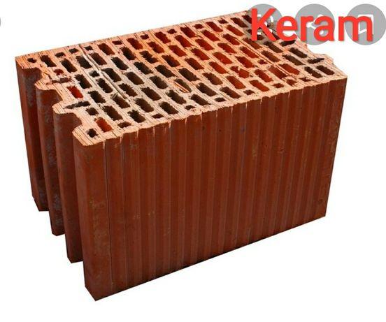 Pustak ceramiczny, porotherma 25P+W Keram