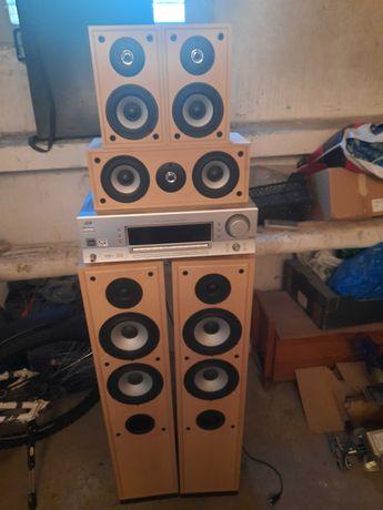 Kino domowe (amplituner + głośniki) JVC RX 5052