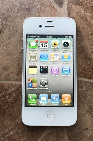 iPhone 4 16GB White Neverlock iOS 4.3.3