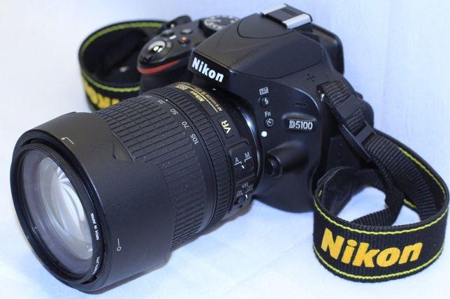 Фотоапарат Зеркалка Nikon D5100, af-s nikkor 18-105