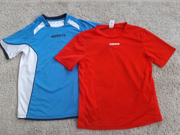 Koszulki sportowe chłopięce KIPSTA rozm. 143/152