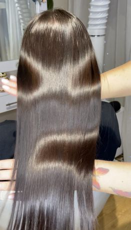 Кератиновое выравнивание .Ботокс для волос. Биксипластия. Нанопластика