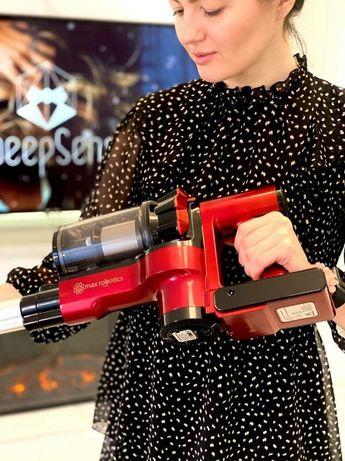 Аккумуляторный пылесос нового поколения вертикальный Max Robotics