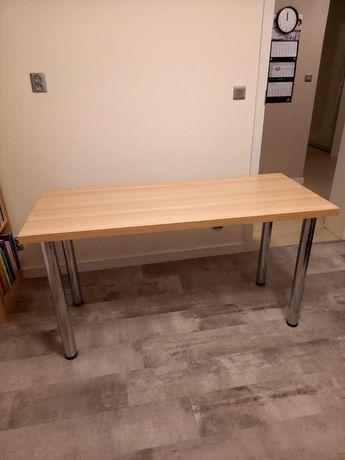 Używane biurko z regałem polskiego producenta + krzesło młodzieżowe