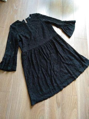Sukienka rozkloszowana wieczorowa koronka mohito 40  L XL ciążowa