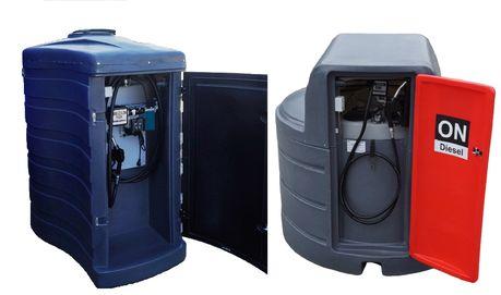 Zbiornik dwupłaszczowy na paliwo rope olej napędowy 1500L - 2500L