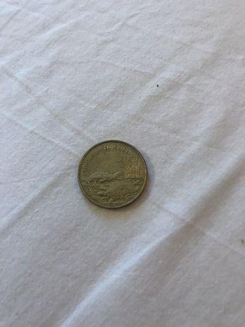 Moneta 2zł kolekcjonerska - żółw błotny