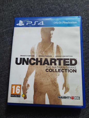Kolekcja Uncharted + Uncharted 4 + Zaginione dziedzictwo Ps4