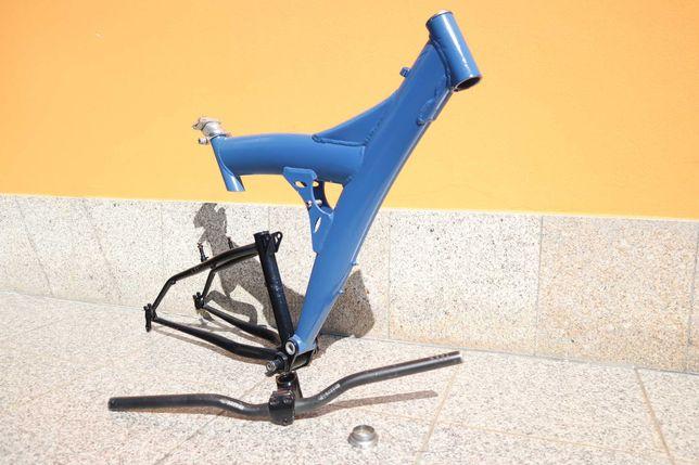 Quadro de bicicleta com guiador 60mm