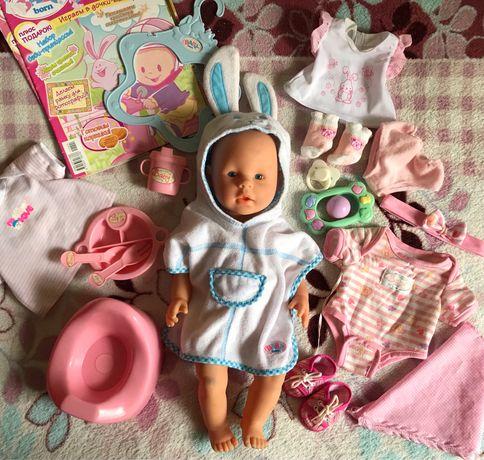 Пупс New Baby Born с вещами