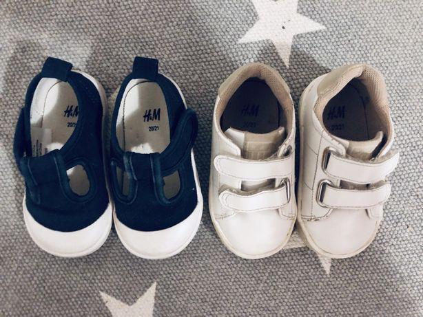 2 pary butów H&M dla chłopca roz. 20/21! Stan bdb
