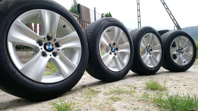 Koła BMW E90 E93 E60 XD E46 Style 327 17 cali 5x120 ET30 Opony 225/55
