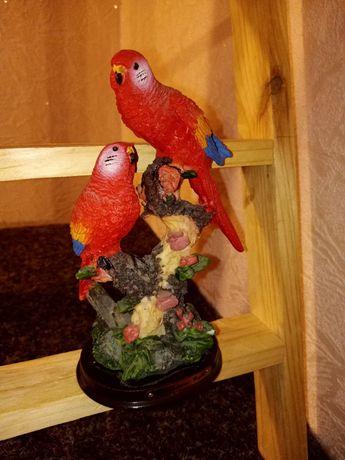 Статуэтка попугай, статуэтка 2 попугая