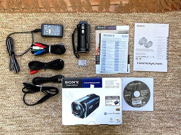 Sony HDR-CX115E Handycam Máquina de filmar digital Camera Camara