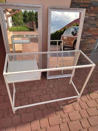 Konsola biała z Ikei