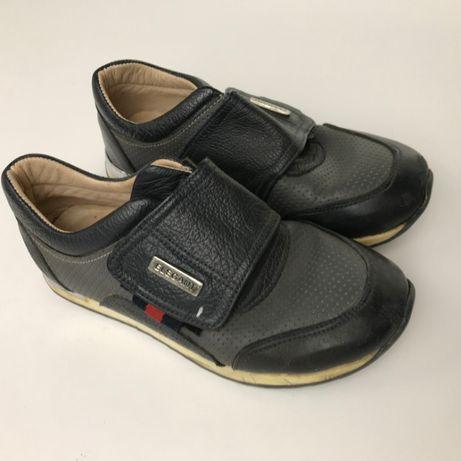Кожаные кроссовки для мальчика BAYRAK Турция размер 29 30