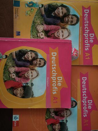 Немецкий Die Deutschprofis A1 учебник, тетрадь, словарь