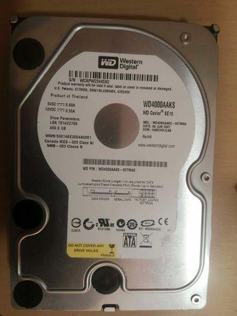 Продам HDD 400GB Western Digital