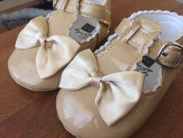 Пинетки туфли туфельки новые 12-12,5 см 12-18 мес